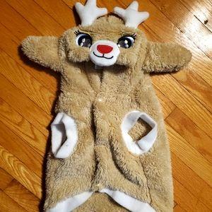 New rudolf dog sweater
